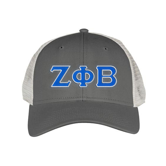 Zeta Phi Beta Greek Trucker Cap