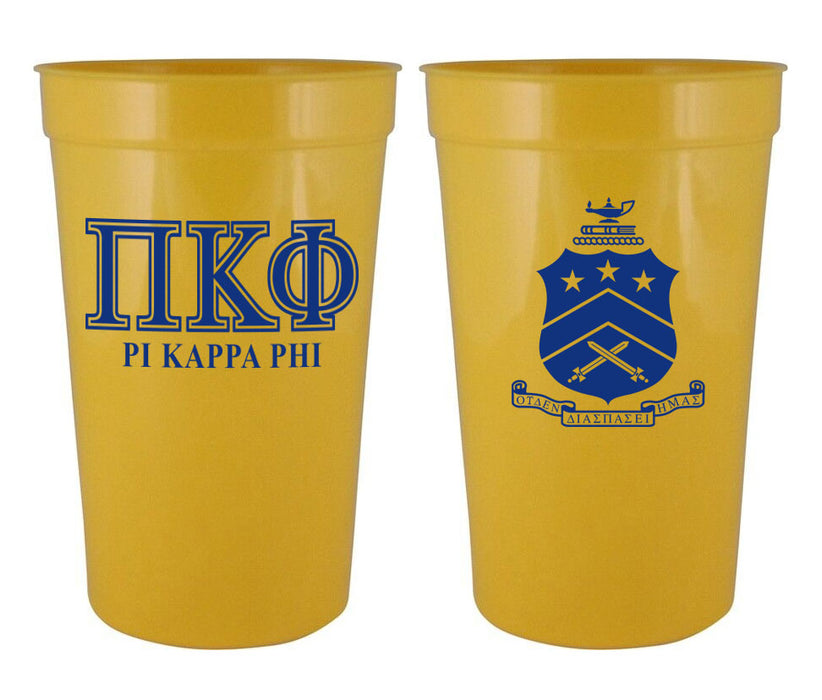 Pi Kappa Phi Fraternity New Crest Stadium Cup