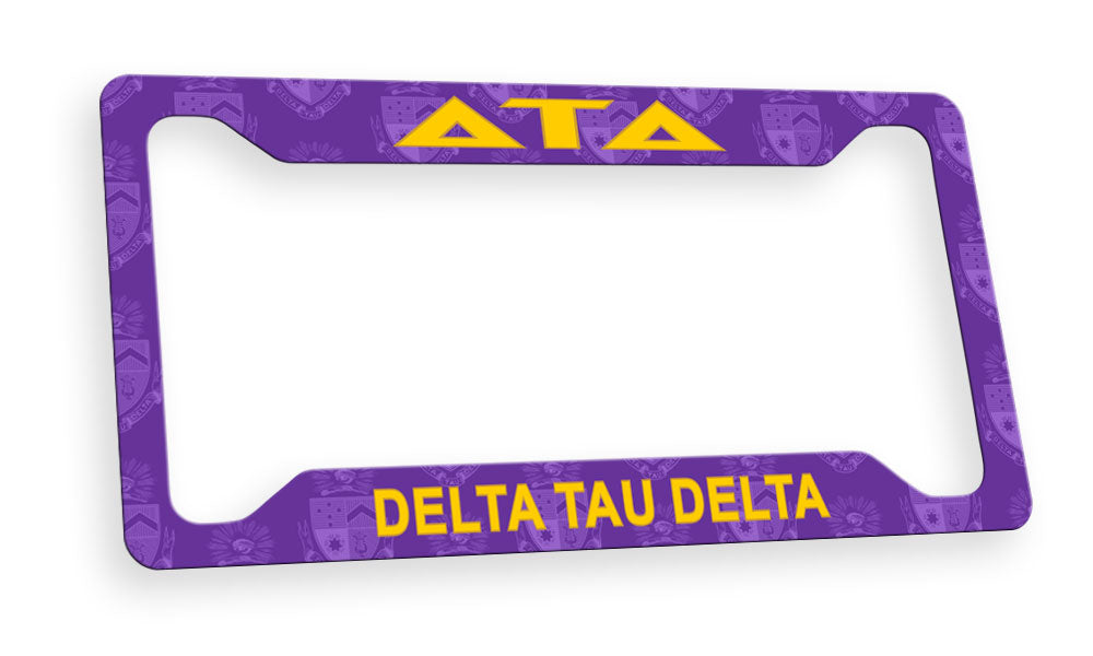 Delta Tau Delta New License Plate Frame