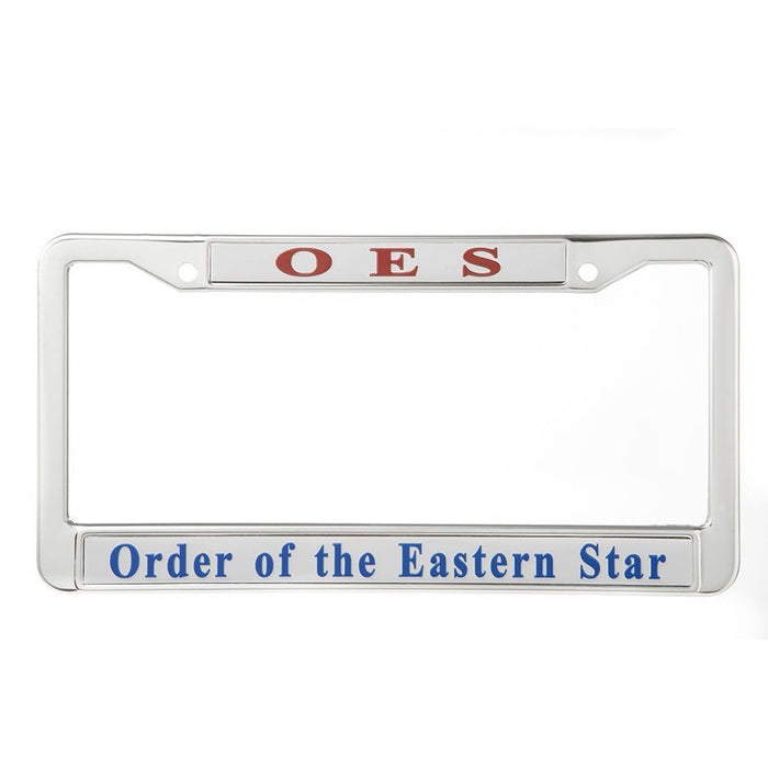 Order Of Eastern Star License Plate Frame