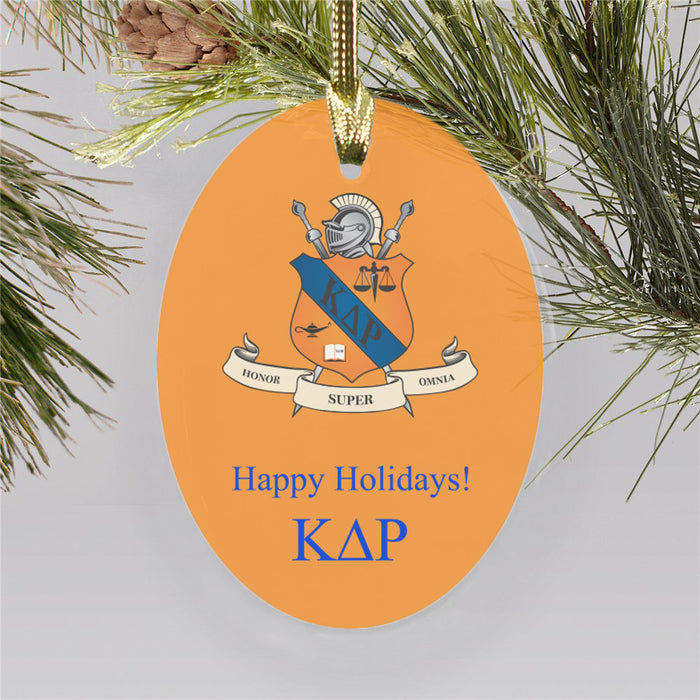 Kappa Delta Rho Color Crest Ornament