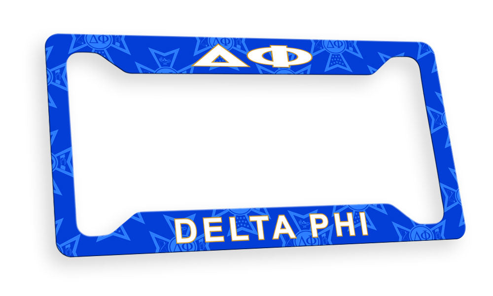 Delta Phi New License Plate Frame