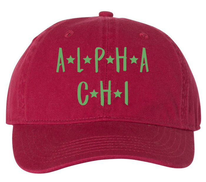 Alpha Chi Omega Starry Night Hat