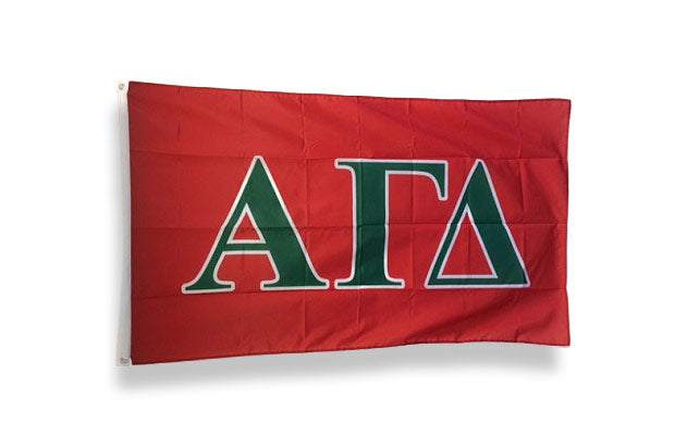 Alpha Gamma Delta Big Flag