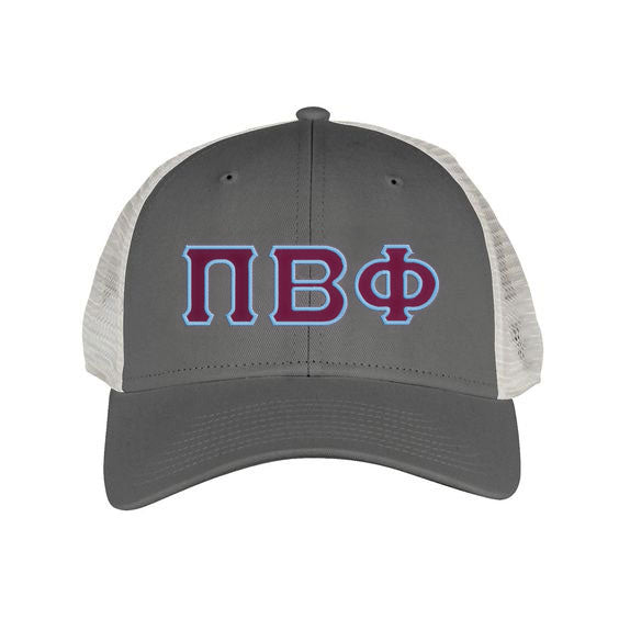 Pi Beta Phi Greek Trucker Cap