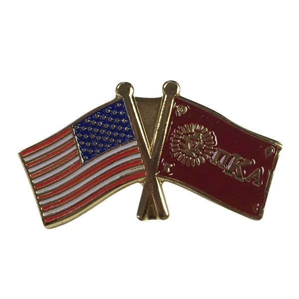 Pi Kappa Alpha USA / Fraternity Flag Pin