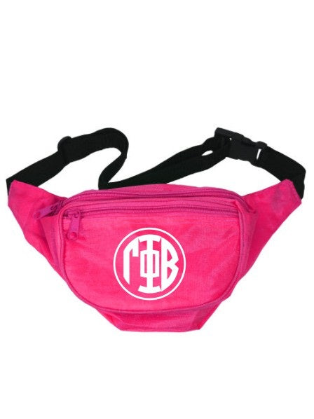 Gamma Phi Beta Monogram Fanny Pack
