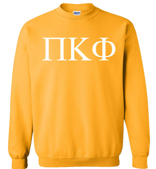 Pi Kappa Phi World Famous Lettered Crewneck Sweatshirt