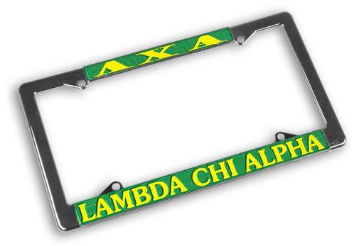 Lambda Chi Alpha License Plate Frame