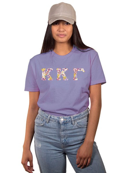 Kappa Kappa Gamma The Best Shirt with Sewn-On Letters
