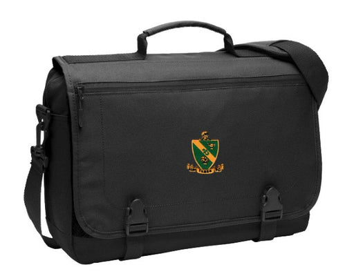 Alpha Gamma Rho Crest Messenger Briefcase