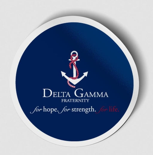 Sorority Logo Circle Sticker