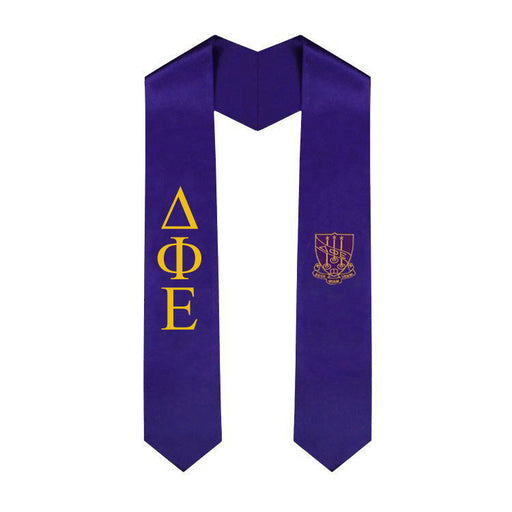 Delta Phi Epsilon Simple Sash Stole