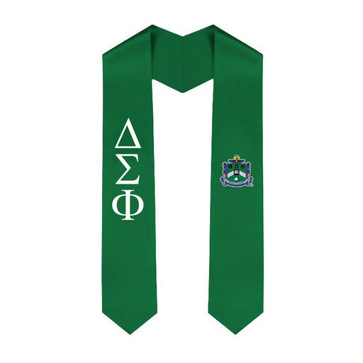 Delta Sigma Phi Simple Sash Stole