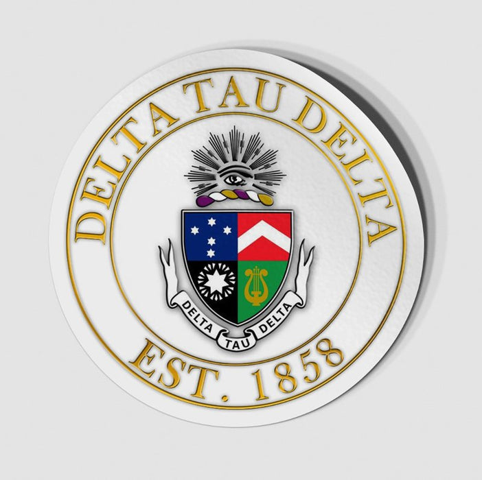 Circle Crest Decal Circle Crest Decal