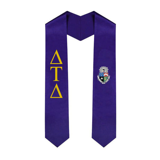 Delta Tau Delta Simple Sash Stole