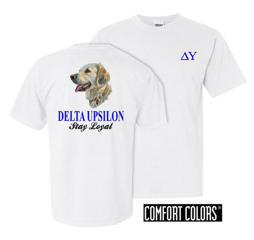 Dog Head Comfort Colors Heavy Tee