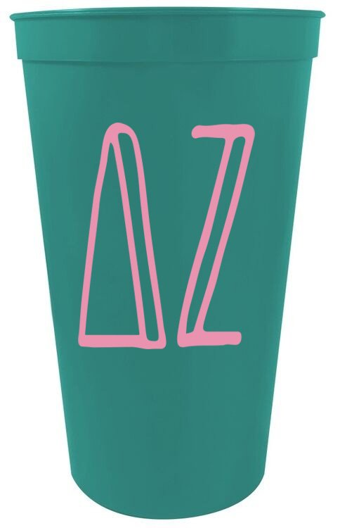Sorority Inline Giant Plastic Cup