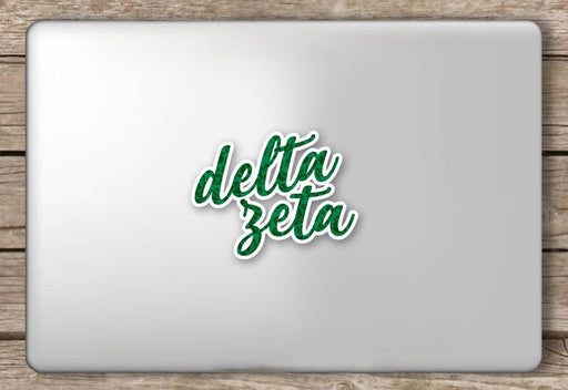 Sorority Script Sticker