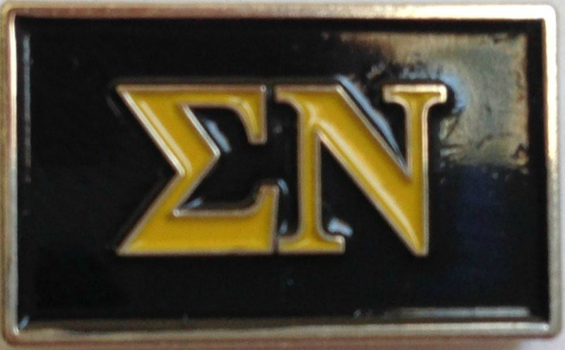 Sigma Nu Fraternity Flag Pin