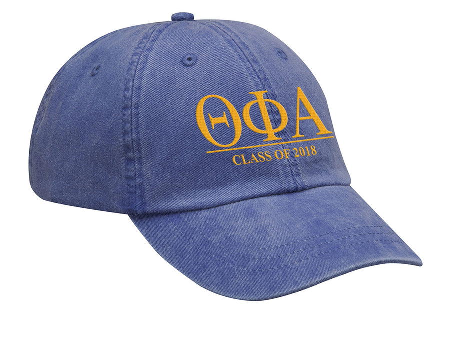 Theta Phi Alpha Embroidered Hat with Custom Text