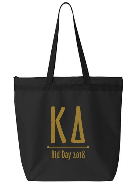 Kappa Delta Oz Letters Event Tote Bag