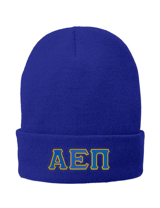 Fraternity Lettered Knit Cap