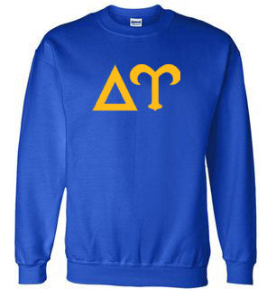 Delta Upsilon World Famous Lettered Crewneck Sweatshirt