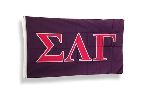 Sigma Lambda Gamma Big Flag