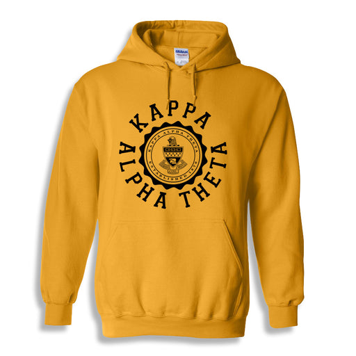 Kappa Alpha Theta World Famous Seal Crest Hoodie