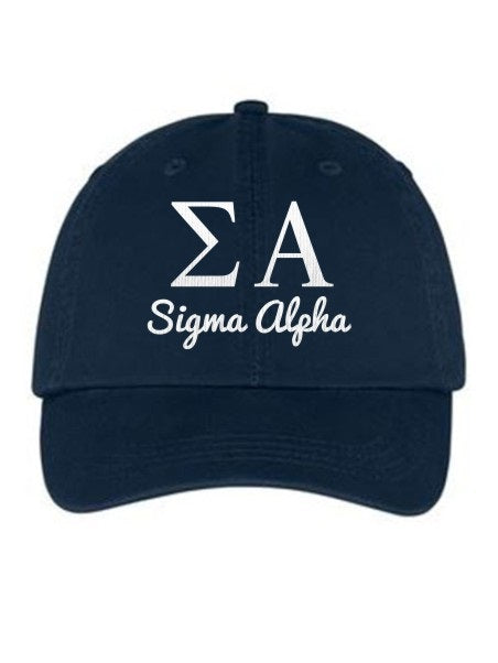 Sigma Alpha Collegiate Curves Hat