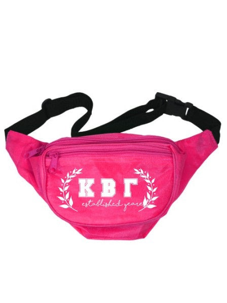 Kappa Beta Gamma Laurel Fanny Pack
