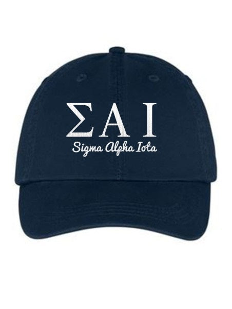 Sigma Alpha Iota Collegiate Curves Hat