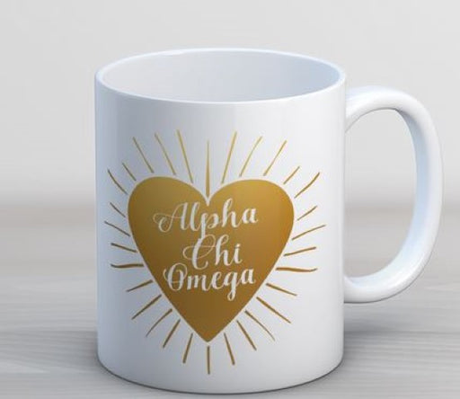 Heart Burst Coffee Mug