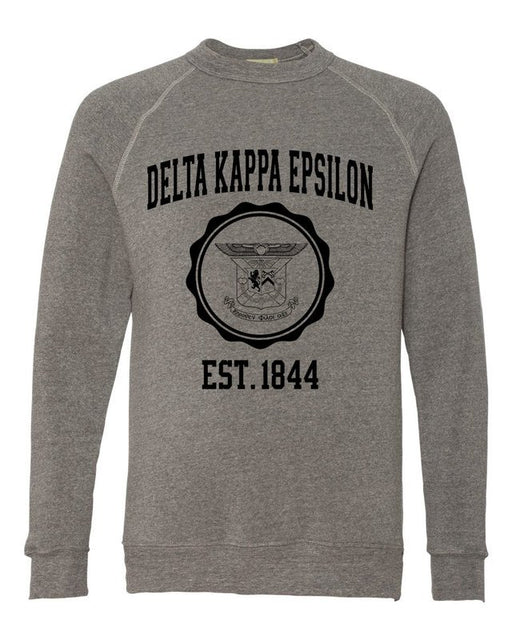 Delta Kappa Epsilon Alternative Eco Fleece Champ Crewneck Sweatshirt