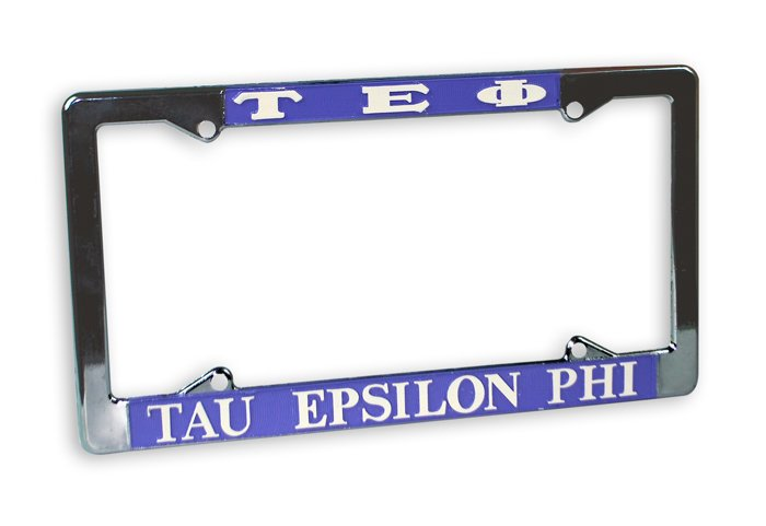 Tau Epsilon Phi License Plate Frame