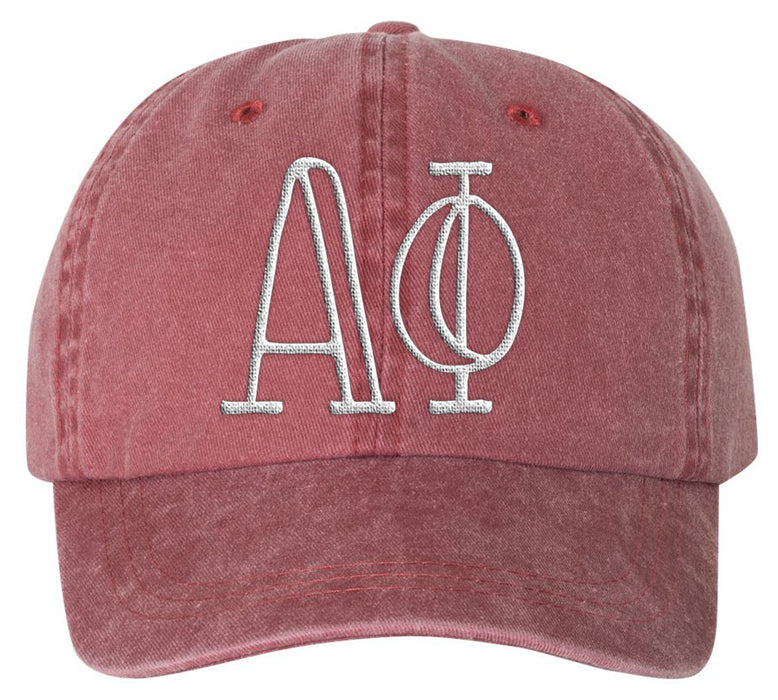 Alpha Phi Sorority Greek Carson Embroidered Hat