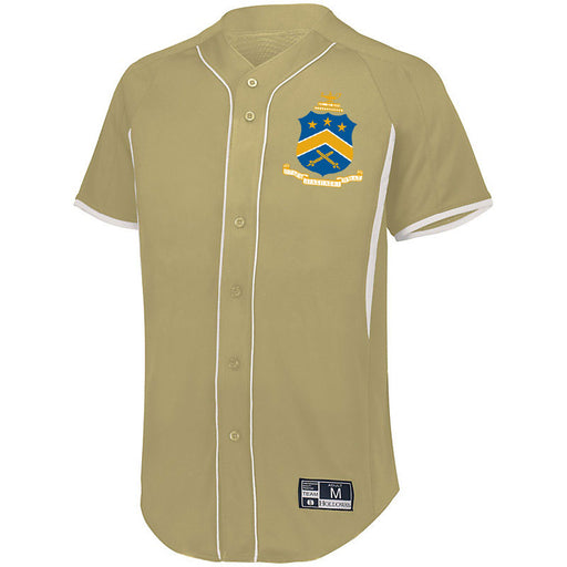 Pi Kappa Phi 7 Full Button Baseball Jersey