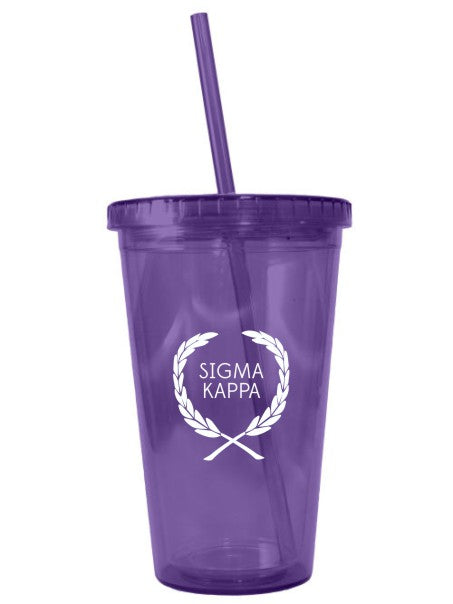 Laurel 16 oz Acrylic Tumbler