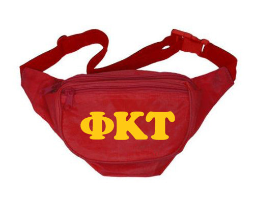 Phi Kappa Tau Letters Layered Fanny Pack