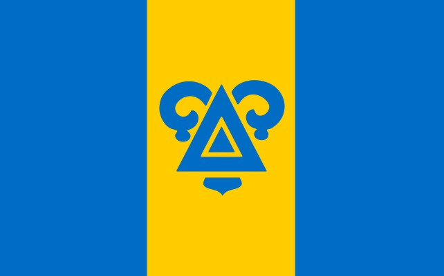 Delta Upsilon Fraternity Flag Sticker