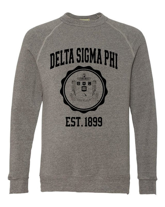 Delta Sigma Phi Alternative Eco Fleece Champ Crewneck Sweatshirt