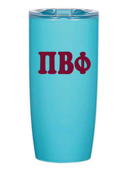 Pi Beta Phi Cooper Letters 19 oz Everest Tumbler