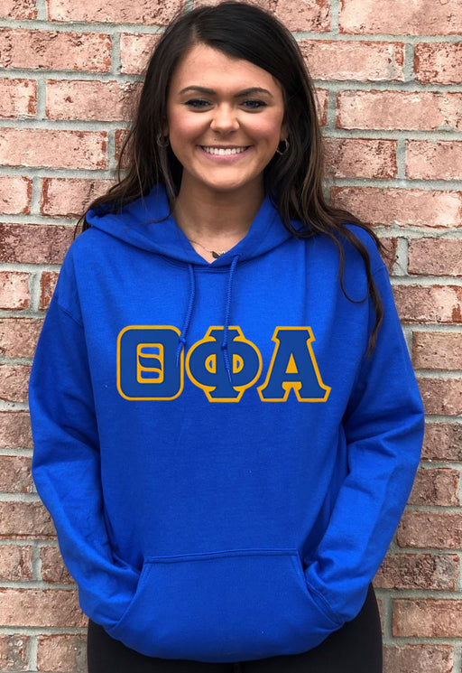 Theta Phi Alpha Lettered Hoodie