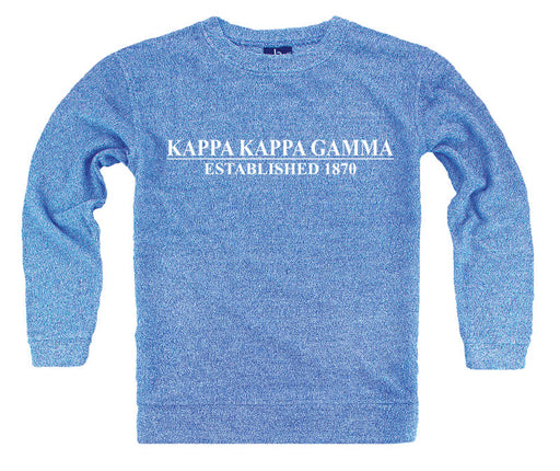 Kappa Kappa Gamma Year Established Cozy Sweater