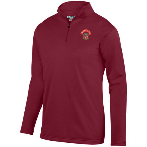 Alpha Chi Rho Crest Moisture Wicking Fleece Pullover