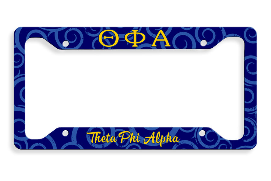Theta Phi Alpha New License Plate Frame