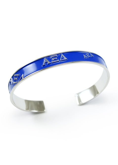 Alpha Xi Delta Bangle Bracelet