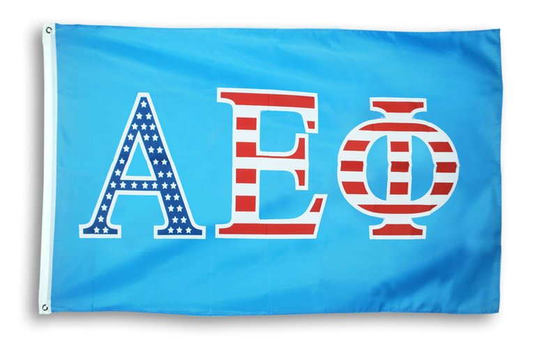 Alpha Epsilon Phi Patriotic Flag
