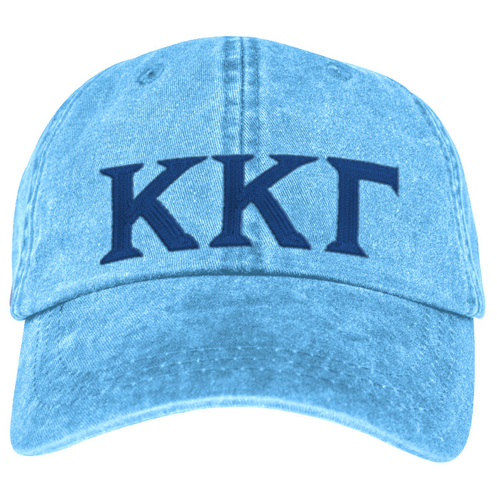 Kappa Kappa Gamma Greek Letter Embroidered Hat